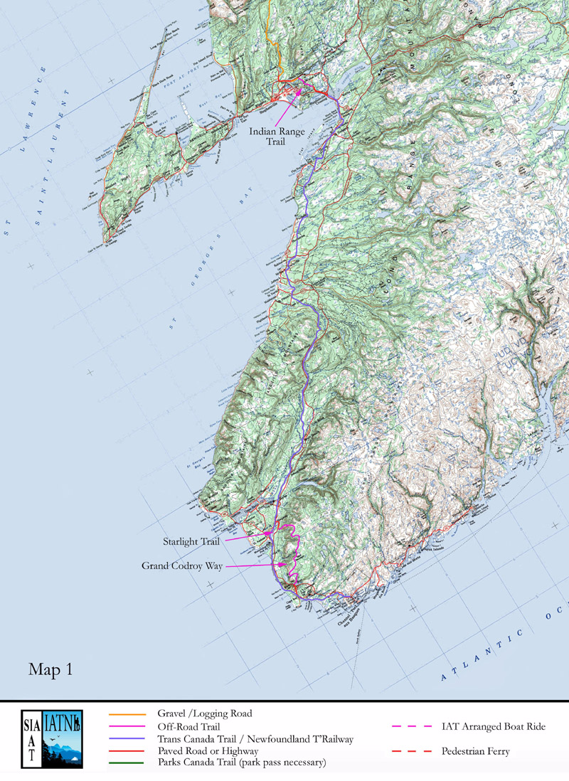 International Appalachian Trail Newfoundland and Labrador
